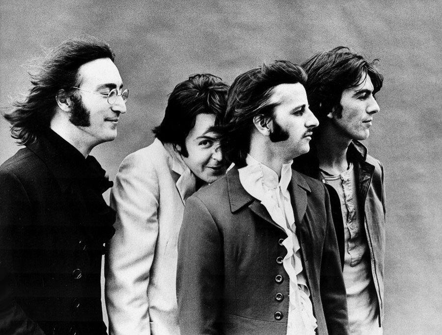Ringo Starr George Harrison Paul McCartney John Lennon The Beatles