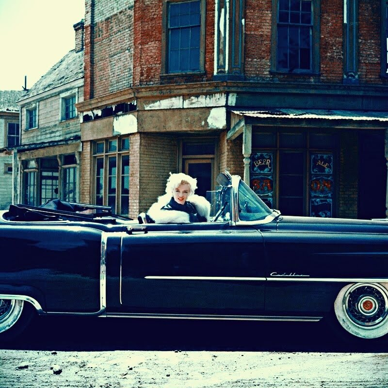 Marilyn Monroe Cadillac.1954