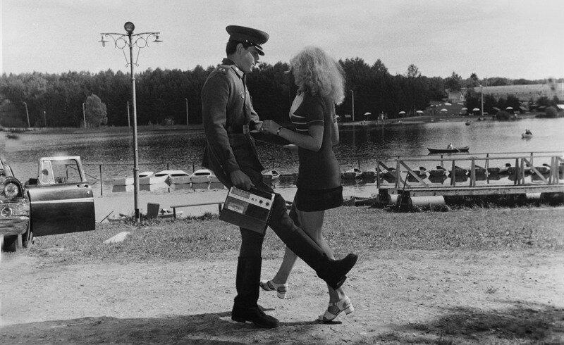 Советское фотоискусство 60-70х.Игорь Гневашев .В увольнении. 1969