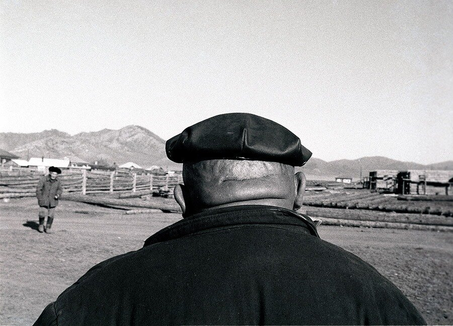 «Колхозный бригадир», Усть-Кан. 1979.Фото Александра Гращенкова