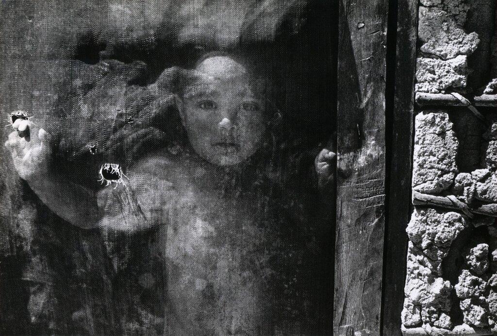 René Burri - Child Brazil, 1977