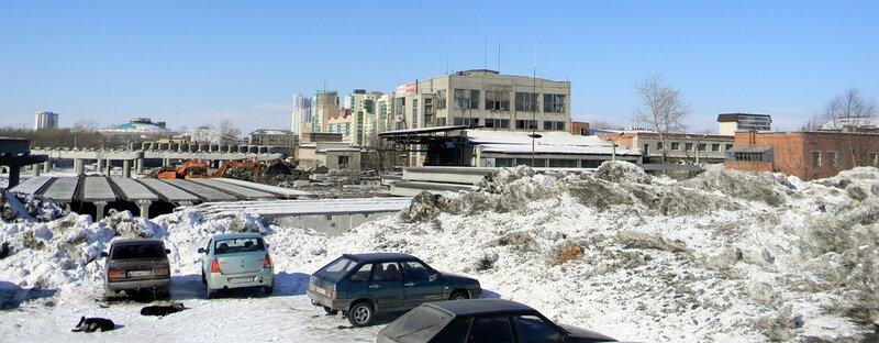 Здания бывшего завода оргстекла