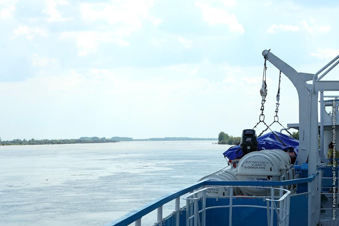 на теплоходе Русь Великая в Казахстан по дельте Волги