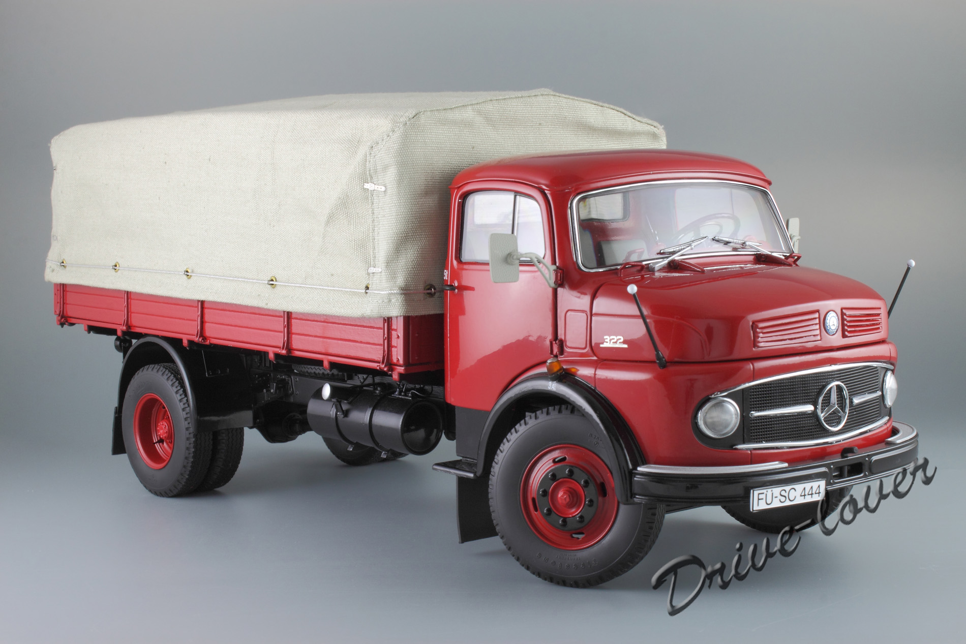 For Sale Mercedes Benz L 322 Pritsche Schuco 1 18
