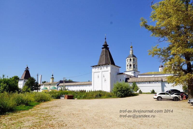 Георгиевская - Знаменская башня, Свято-Пафнутиев Боровский монастырь