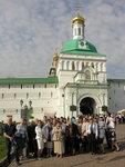 Слушатели Богословских курсов при Донском храме посетили Троице-Сергиеву лавру