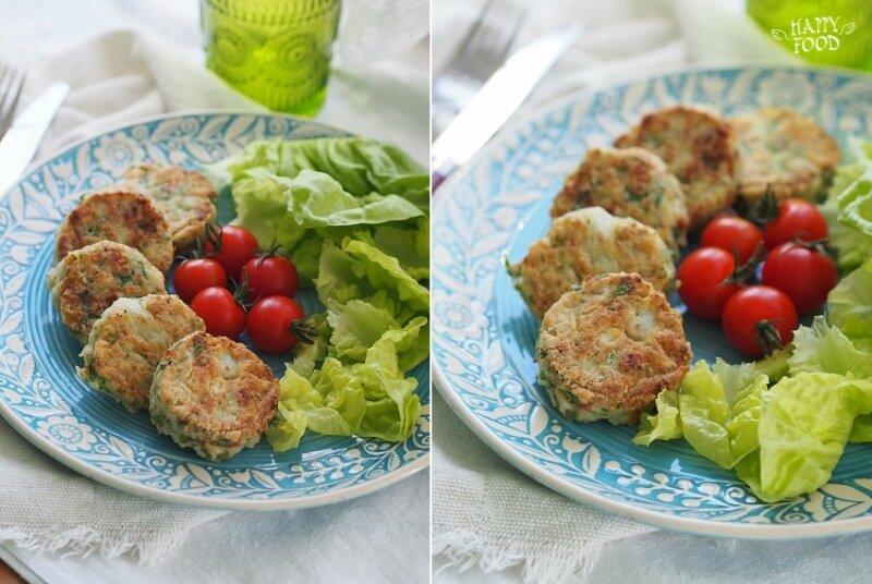 Котлетки из цветной капусты с паприкой (простой рецепт)