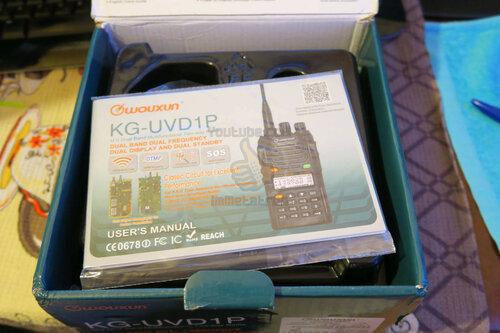 Wouxun KG-UVD1P