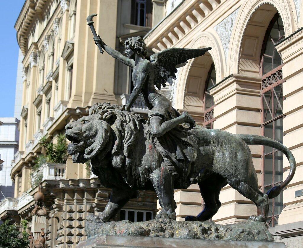 Naples. Palace of the Exchange (Palazzo della Borsa)