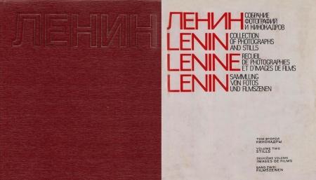 Книга Ленин. Собрание фотографий и кинокадров. В двух томах. Под ред. А. Сандлера. М., 1970.