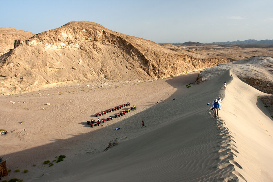 Экскурсия в пустыню