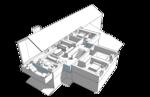 План второго этажа. Дача, жилой дом 350 кв.м
