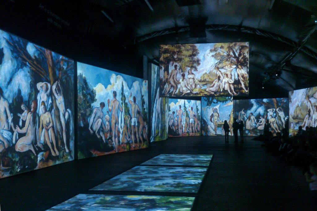 2015.04.04 - Москва. ArtPlay. Французские импрессионисты от Моне до Сезанна. Экспозиция. Фрагмент 2