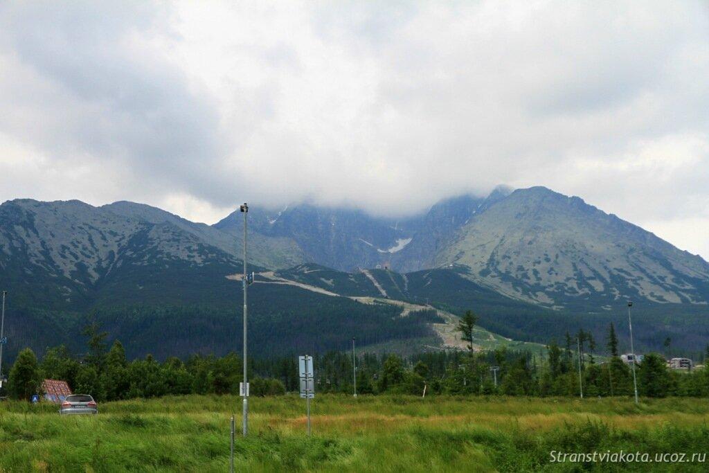 Словакия, Высокие Татры, Татранска Ломница