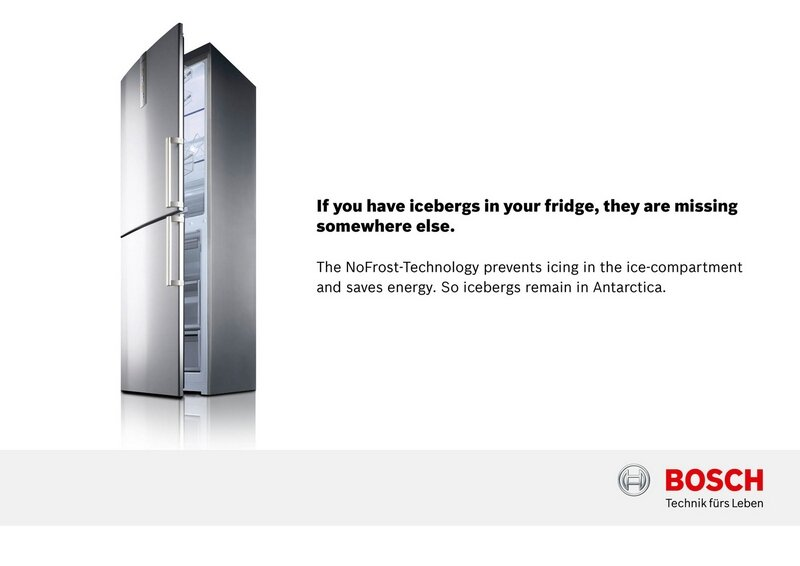 Bosch холодильники с Nofrost