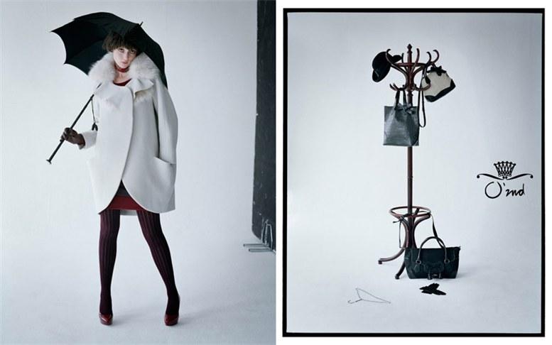 Audrey Marnay / Одри Марне в рекламной кампании модного бренда O-2nd, осень 2011 / фотограф Tim Walker