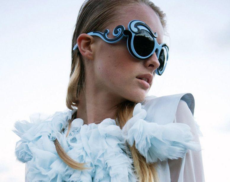 модель Ева, фотограф David K. Shields