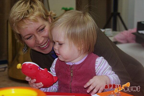Татьяна Лазарева с дочерью