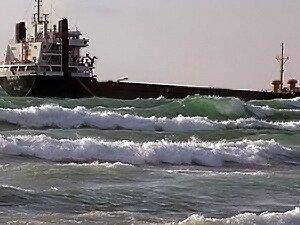 Теплоход «Melody» сел на мель у побережья Сахалина