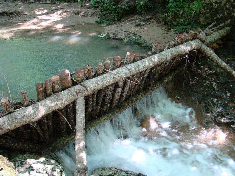 Дамба на реке своими руками