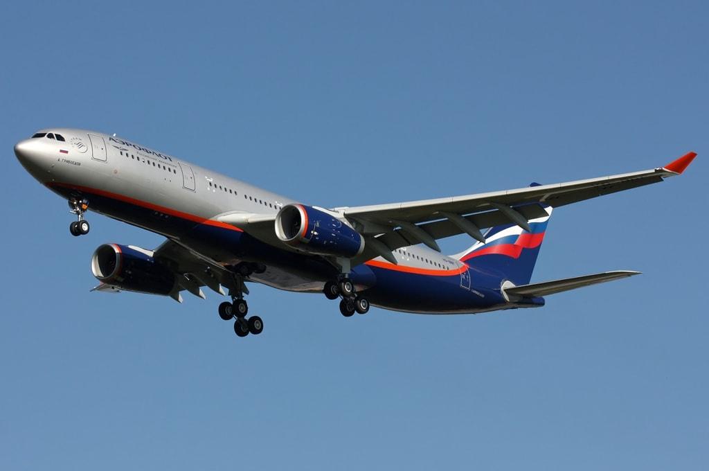 Airbus A330 Москва-Дели