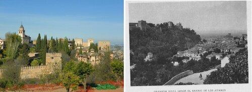 Старые фото Альгамбры