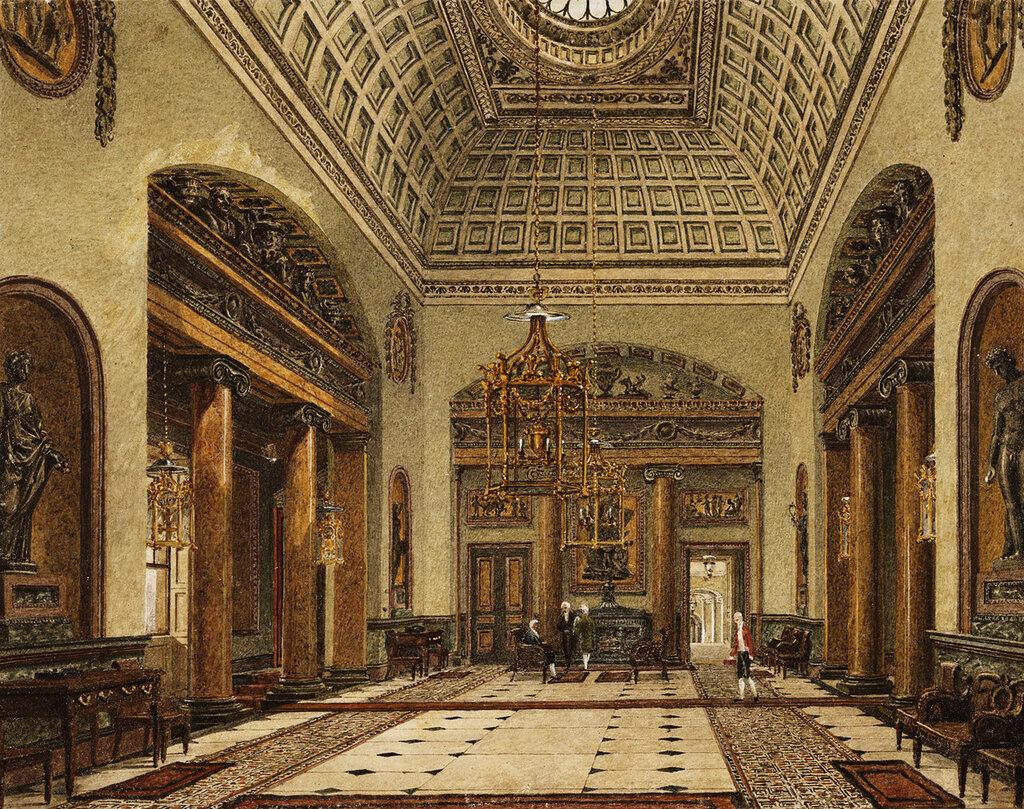 Зал Вход или Большой зал, Carlton House.
