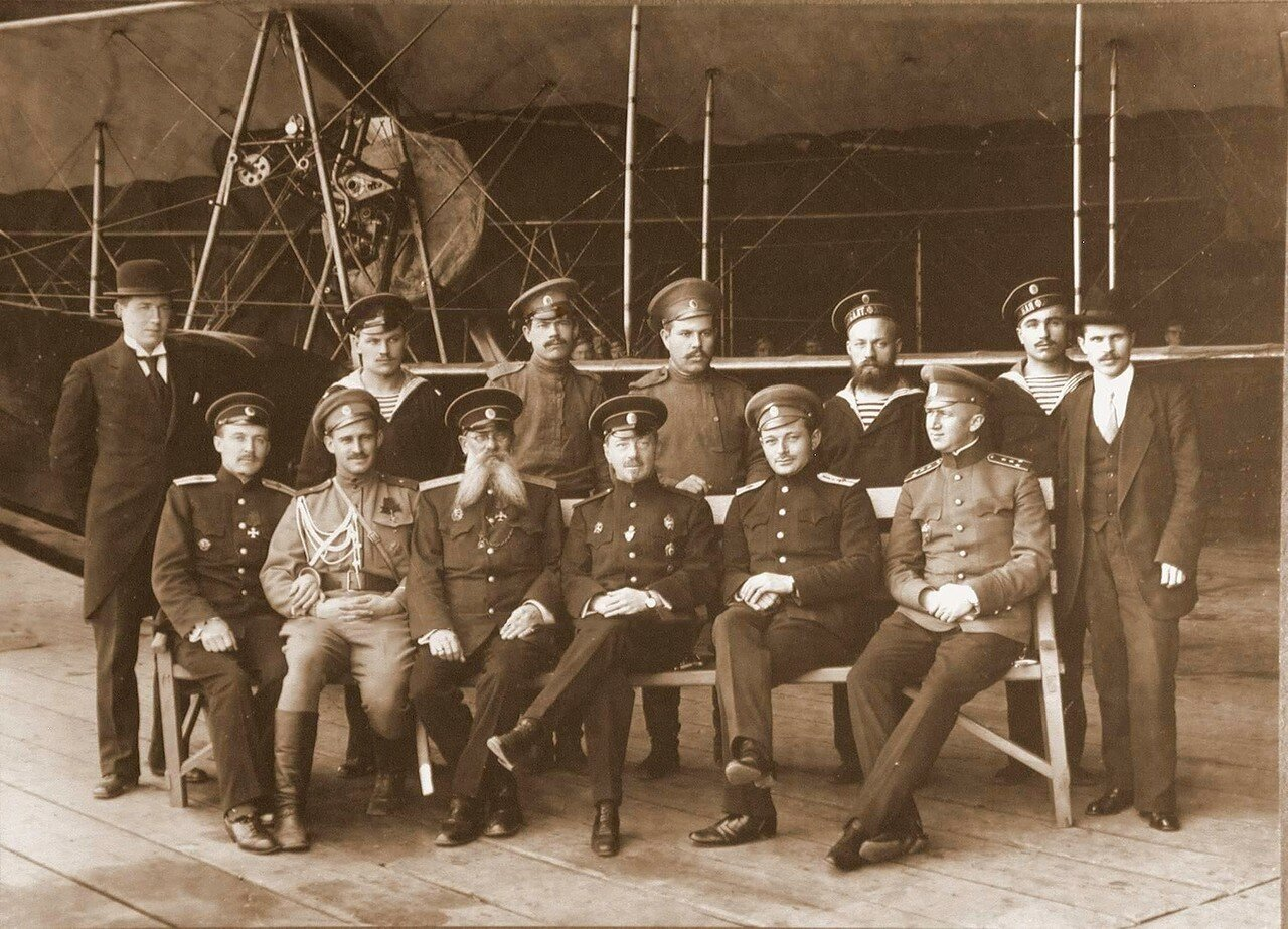 06. Члены административной части школы морской авиации