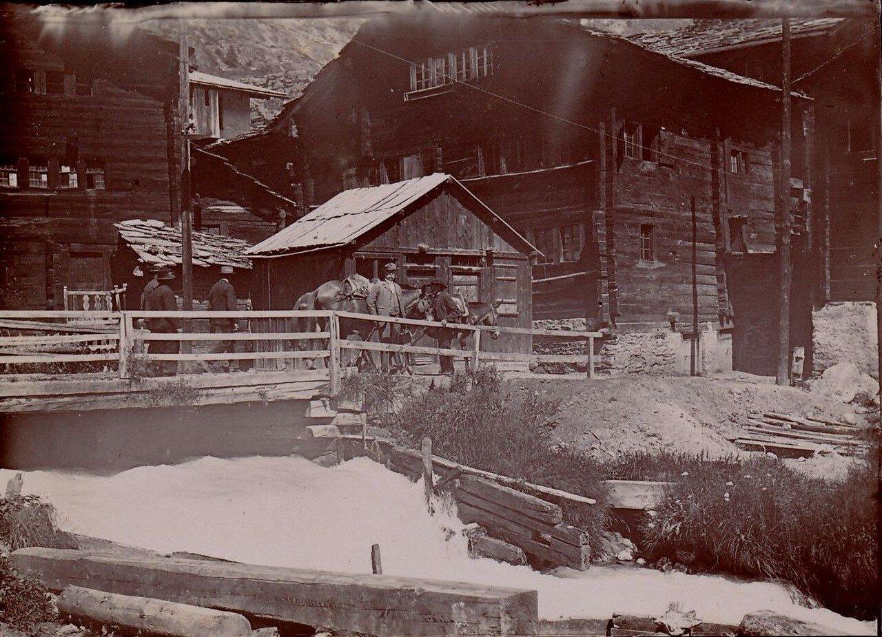 Мост в деревне Церматт