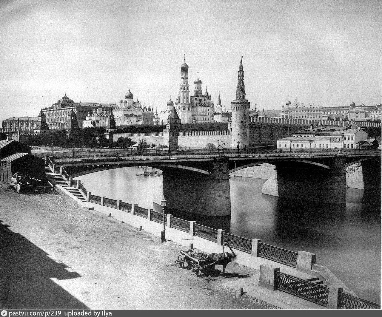 661. Вид на Кремль. 1890-е