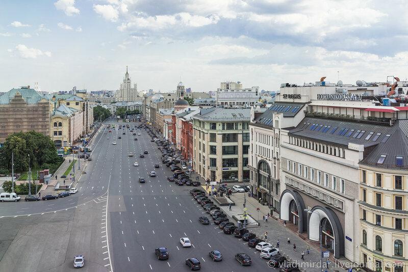 Новая площадь. Москва.