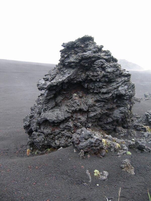 Вулканическая бомба, Толбачик, Камчатка