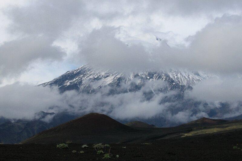 Вулкан Острый Толбачик, Камчатка