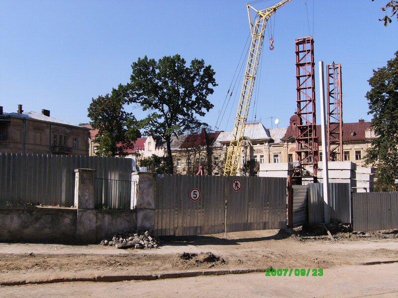 2007 год Начало строительства консульства Польши