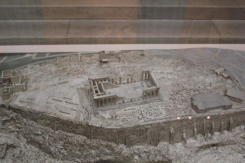 Макет Афинского Акрополя