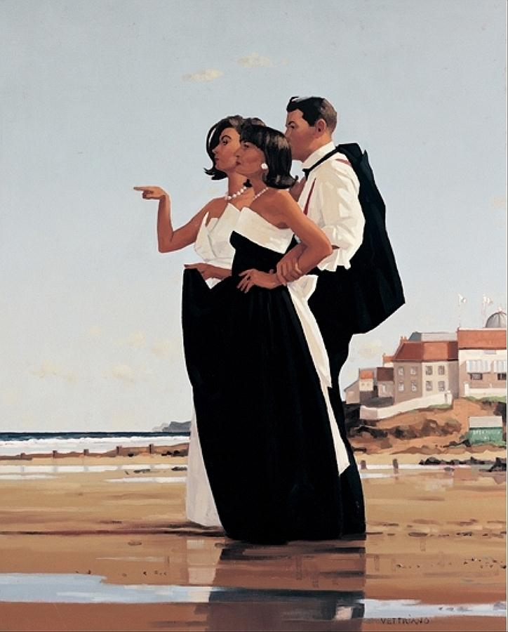 The Missing Man II  by Jack Vettriano.
