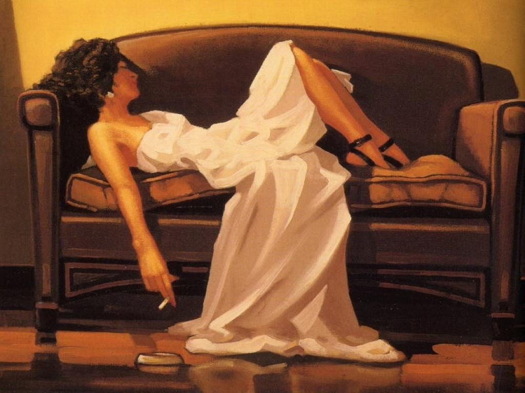 AfterTheThrillIs Gone, by Jack Vettriano