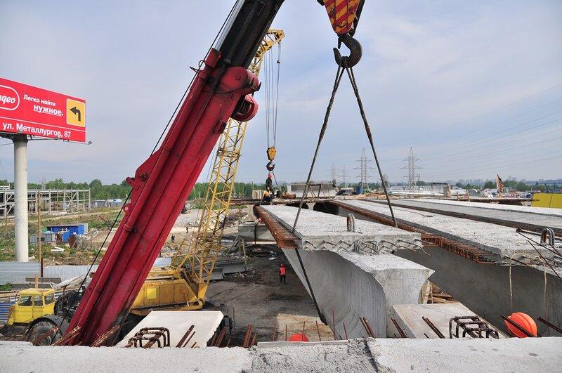 vzadumin развязка у Меги ekamag дорожные работы строительство стройка стройки екатеринбурга стройплощадка.
