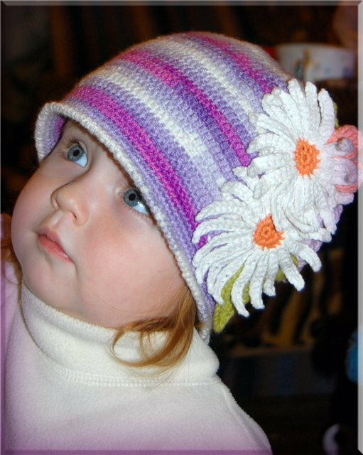 knitted baby: baby hat