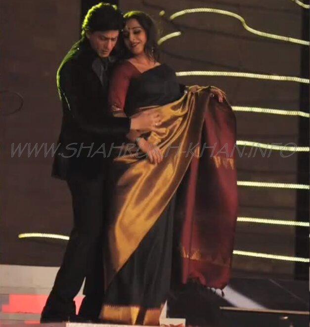 Colour Screen Awards 2012 - Shah Rukh Khan & Vidya Balan