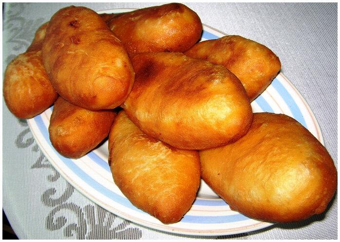 Пирожки из картофельного отвара