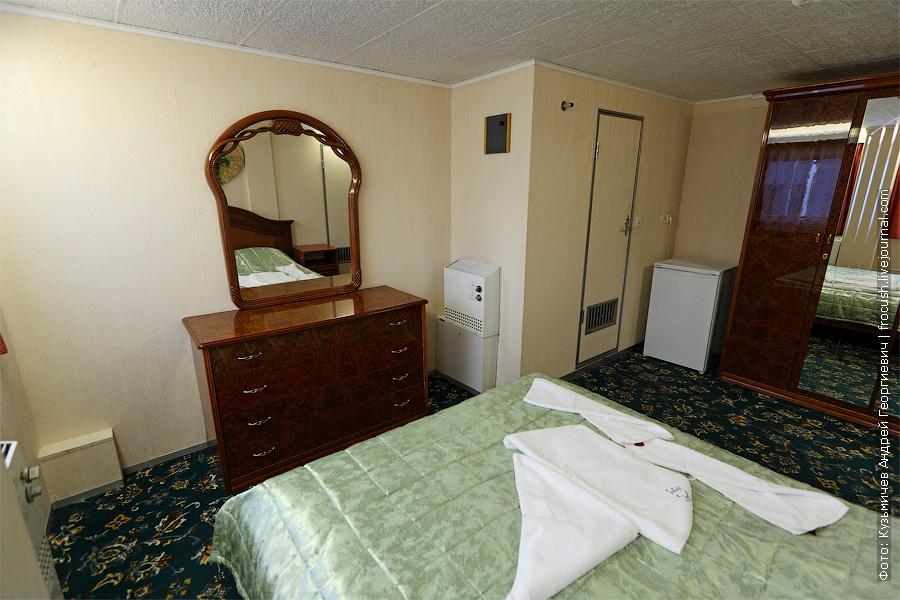 Спальня люкса №359. теплоход «Константин Федин»