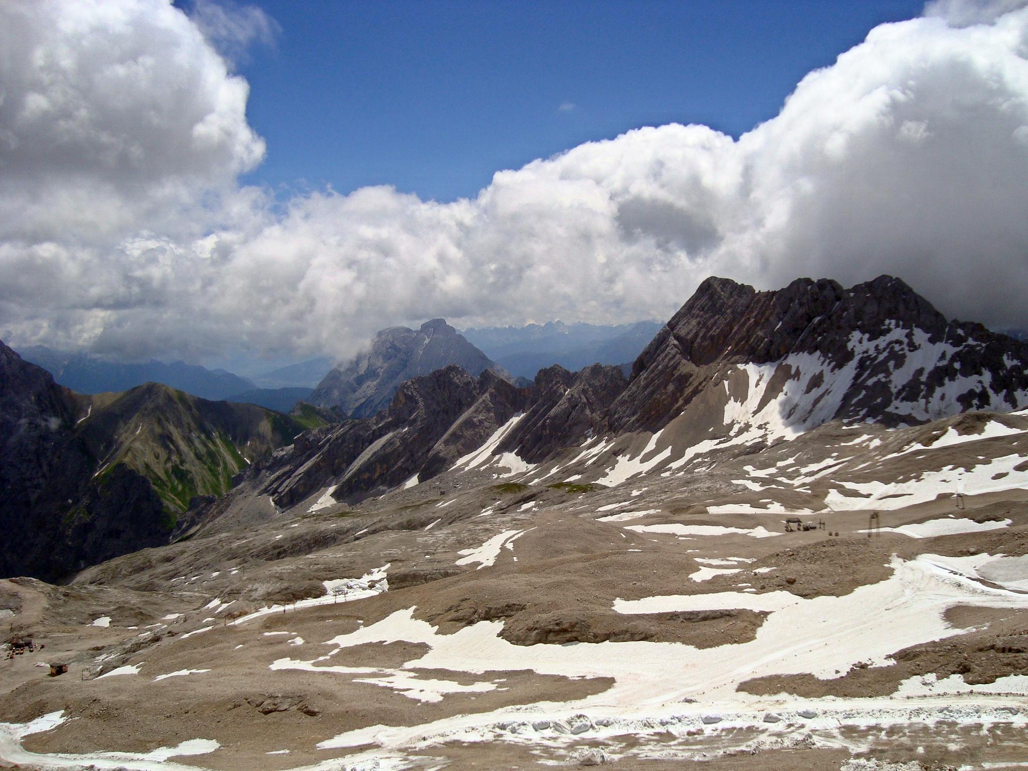 Плато Zugspitze