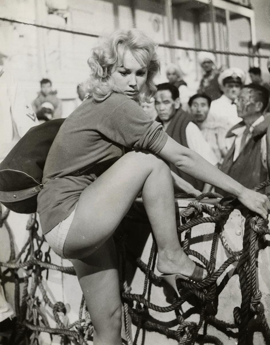 """Mylène Demongeot in """"Under Ten Flags"""" (1960).jpg"""