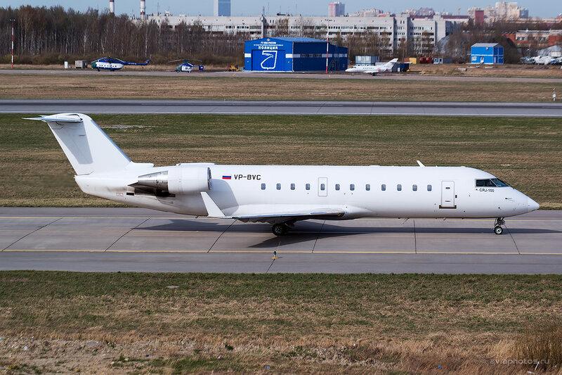 Bombardier CRJ-200ER (VP-BVC) РусЛайн D804293