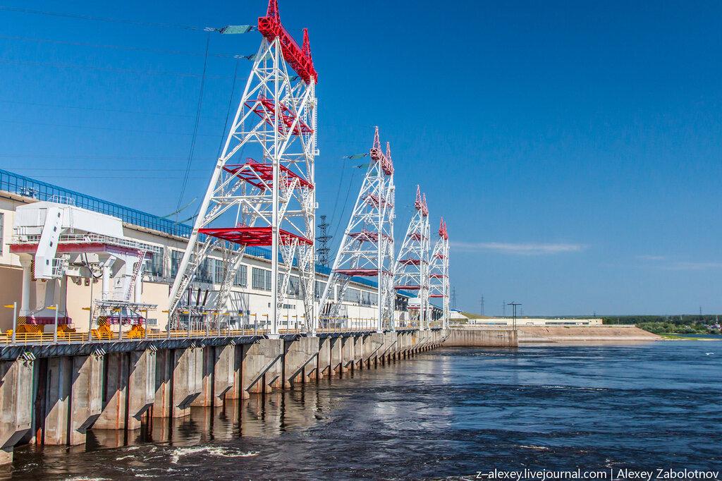 Экскурсия на Чебоксарскую ГЭС