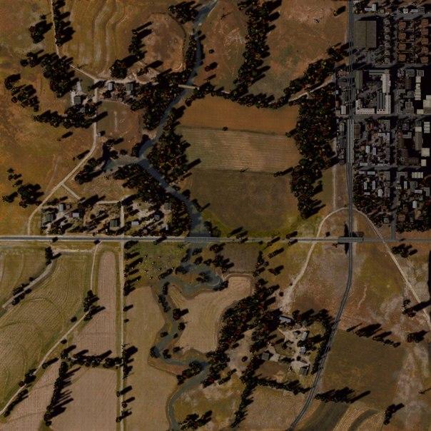 Карта Хайвей