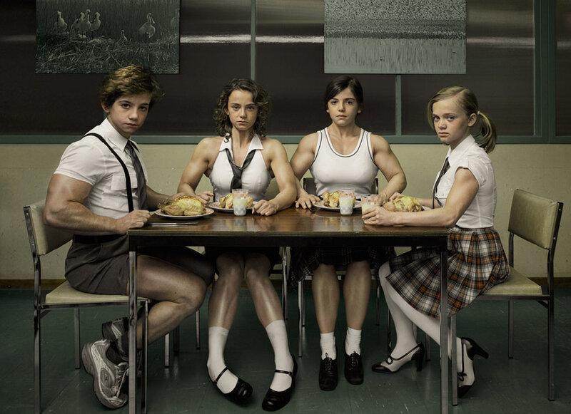 Девушки, которые очень любили спорт