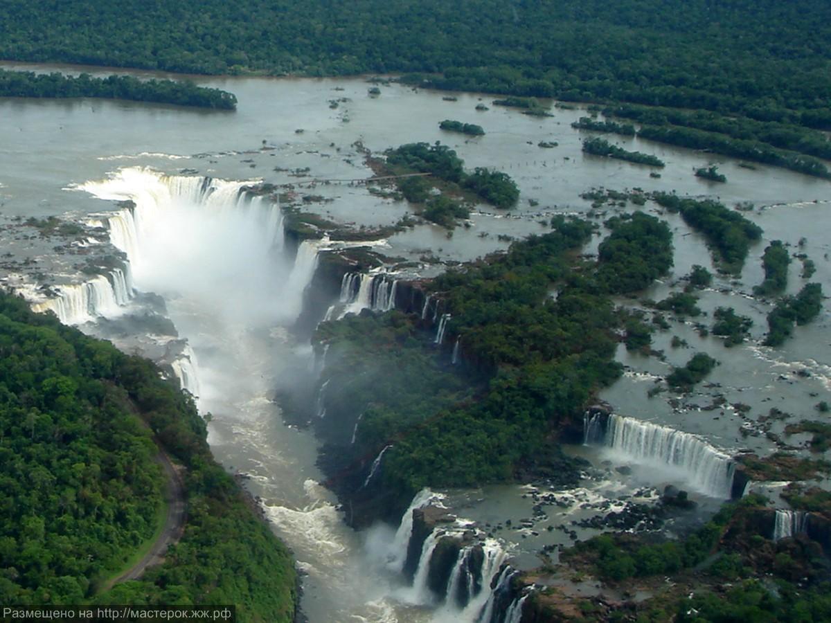 Cataratas Foz de Iguaçu Fronteira Brasil-Argentina