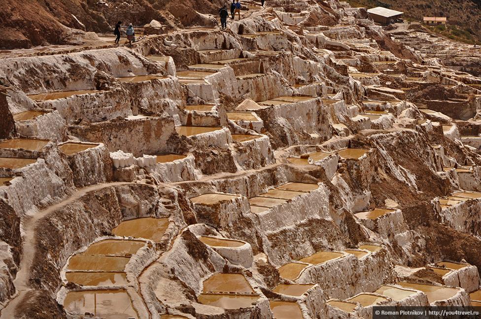 0 16a1fc d315de50 orig Морай и соляные копи Мараса недалеко от Куско в Перу